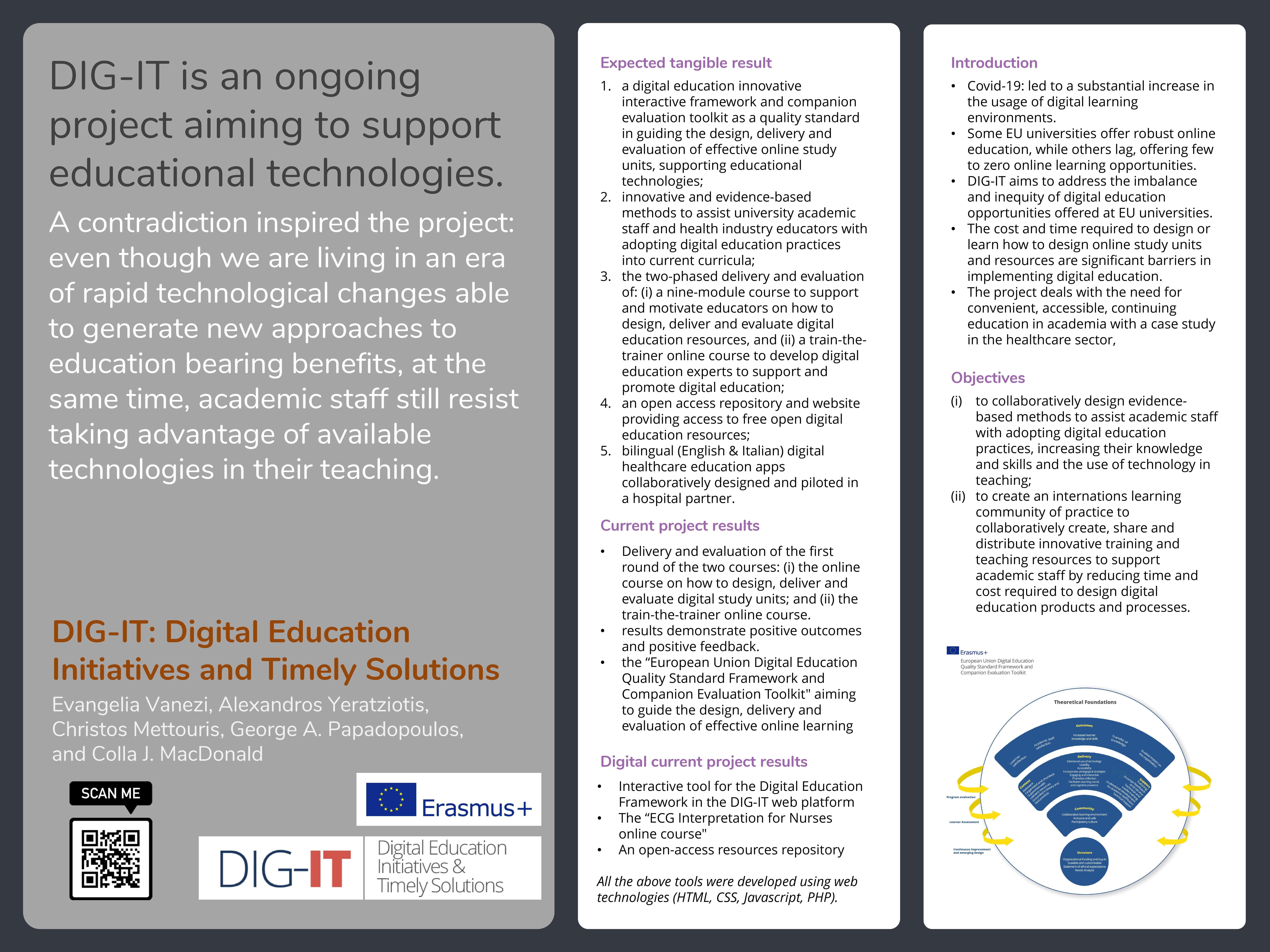 DIG-IT: Digital Education Initiatives and Timely Solutions