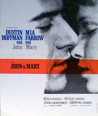 Джон и Мэри / John and Mary (Питер Йейтс / Peter Yates) [1969 г., Драма, Мелодрама, DVDRip]