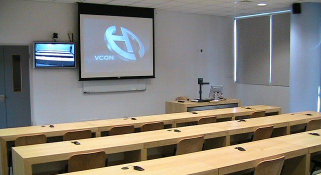 CS Department Tele-Education facilities, Room 148, Wing E, Building 12, New campus